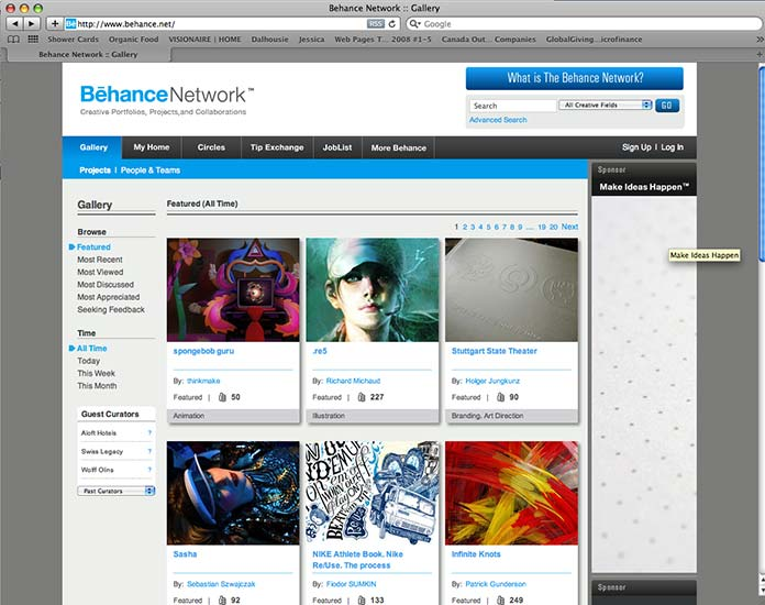 Network Access: Finding and Working with Creative Communities